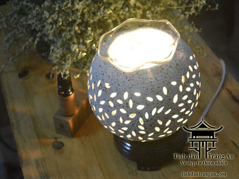 Đèn xông tinh dầu gốm PC1 tặng 10ml tinh dầu