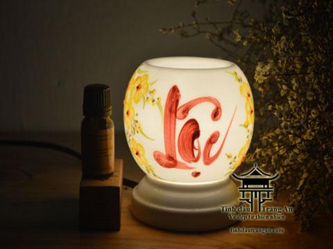 Đèn xông tinh dầu M17 tặng 10ml tinh dầu
