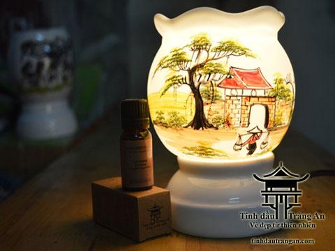 Đèn xông tinh dầu T11 tặng 10ml tinh dầu
