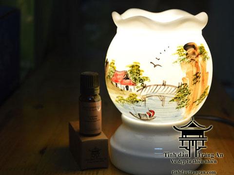 Đèn xông tinh dầu T14 tặng 10ml tinh dầu