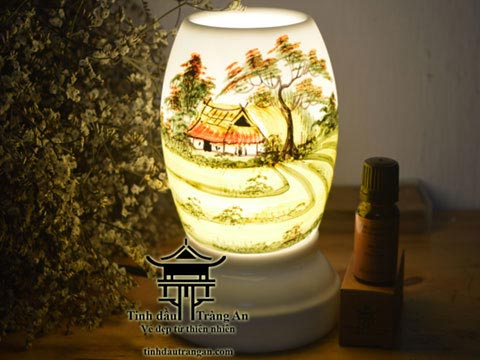 Đèn xông tinh dầu T16 tặng 10ml tinh dầu