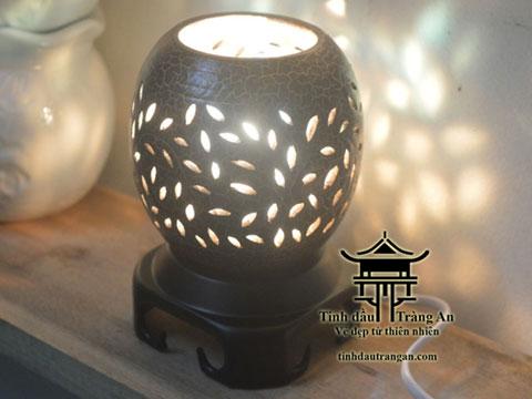 Đèn xông tinh dầu gốm PN4 tặng 10ml tinh dầu