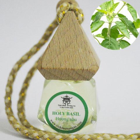 Tinh dầu treo xe ô tô -  Hương Nhu (Gratissimum)