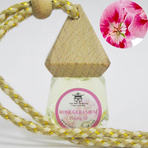 Tinh dầu treo xe ô tô - Phong Lữ (Rose Geranium)
